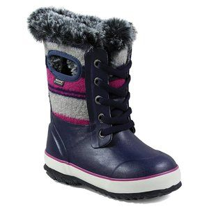 Bogs Unisex Kids Arcata Lace Stripe Insulated Boot